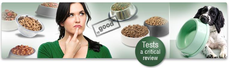 Dog Food Test Report