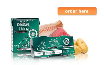 MENU Pure Fish product information