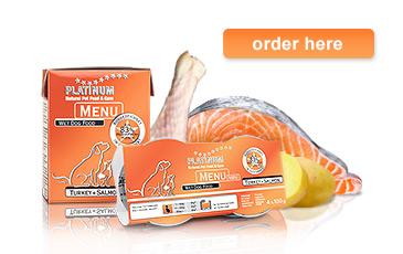 MENU Turkey+Salmon product information